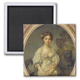 Le broc cassé, c.1772-73 aimant pour réfrigérateur