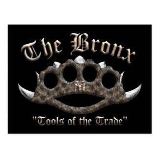 Le Bronx - articulations en laiton pointues Carte Postale