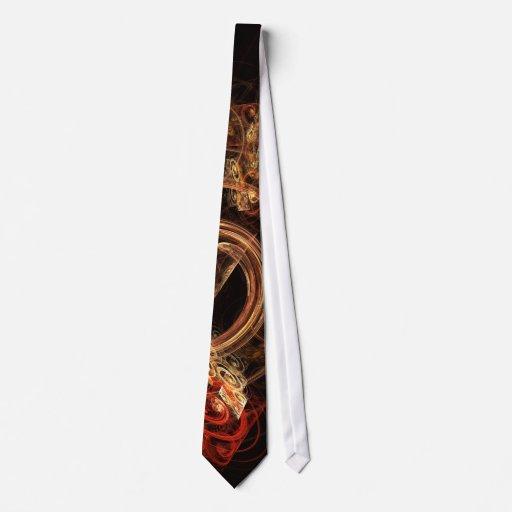 Le bruit de la cravate d'art abstrait de musique