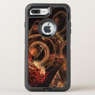 Le bruit de l'art abstrait de musique coque otterbox defender pour iPhone 7 plus