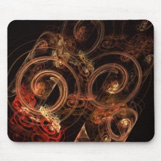 Le bruit de l'art abstrait Mousepad de musique Tapis De Souris