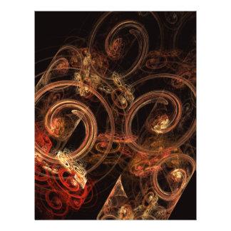 Le bruit de l'insecte d'art abstrait de musique prospectus 21,6 cm x 24,94 cm