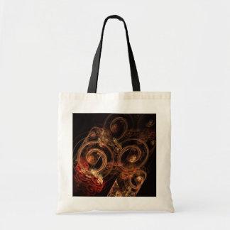 Le bruit du sac fourre-tout à art abstrait de musi