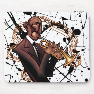 Le bruit musical Mousepad de jazz Tapis De Souris