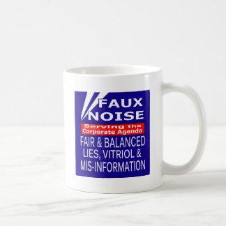 Le bruit TOUT de Faux se trouve, vitriol et Mug
