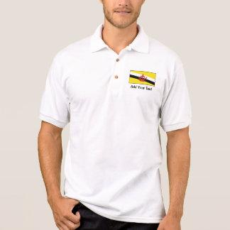 Le Brunei - drapeau de Bruneian Polo