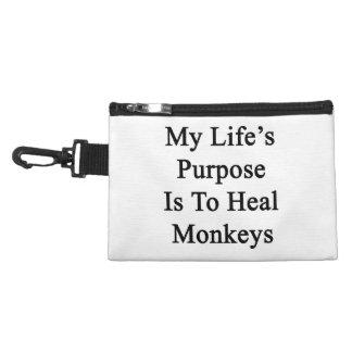 Le but de la ma vie est de guérir des singes trousses pour accessoires