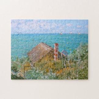 Le cabine aux beaux-arts de Sainte-Adresse Monet Puzzle