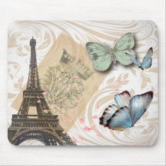 le cachet de la poste scripts la tour de Paris Tapis De Souris