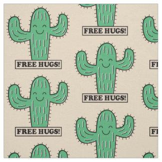 Le cactus libre étreint le tissu fait sur commande