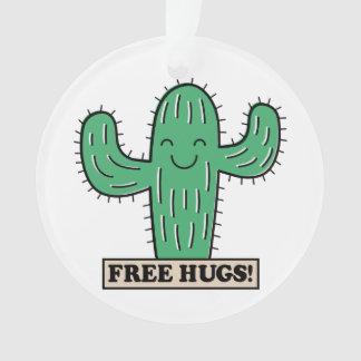 Le cactus libre étreint l'ornement