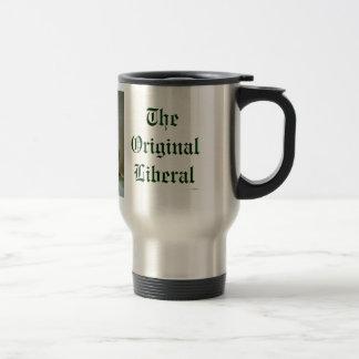 Le caddie libéral original de café mug de voyage en acier inoxydable
