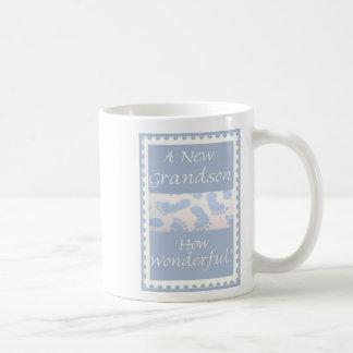 Le cadeau de la diva pour le nouveau petit-fils de mug blanc