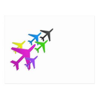 le cadeaux de d'avion de flotte versent l'AVION Cartes Postales
