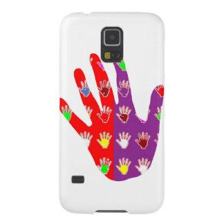 Le cadeaux de haute fidélité de DES de MAIN de Coques Pour Galaxy S5