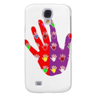 Le cadeaux de haute fidélité de DES de MAIN de Hig Coque Galaxy S4