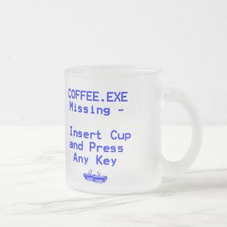 Le café est absent ! mug
