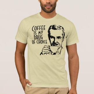 Le café est ma drogue de rétro bien choisi t-shirt