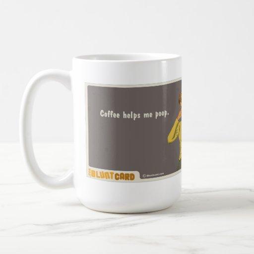 le café m'aide dunette tasse à café