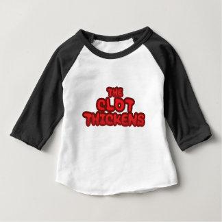 Le caillot s'épaissit t-shirt pour bébé