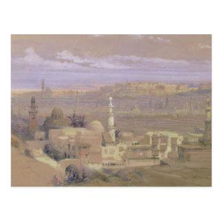 Le Caire de la porte de Citizenib, regardant vers Carte Postale