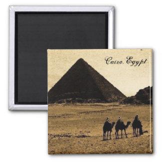 Le Caire, Egypte Magnet Carré