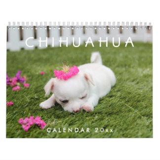 Le calendrier 2018 de chiwawa ajoutent vos photos