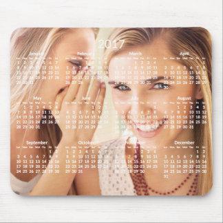 Le calendrier annuel Mousepad 2017 ajoutent la Tapis De Souris