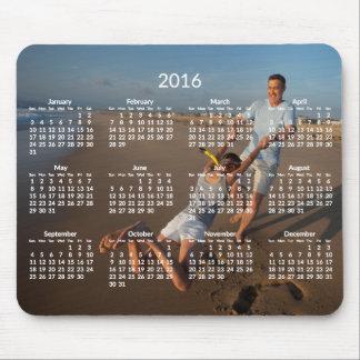 Le calendrier annuel Mousepads 2016 ajoutent la Tapis De Souris