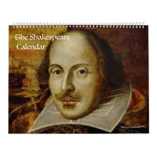 Le calendrier de Shakespeare