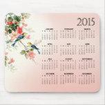 Le calendrier vintage des inséparables 2015 tapis de souris