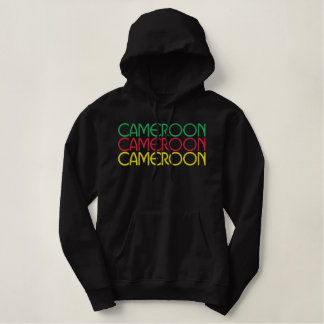 Le Cameroun 2010 Sweat-shirts À Capuche Brodés