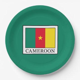 Le Cameroun Assiettes En Papier