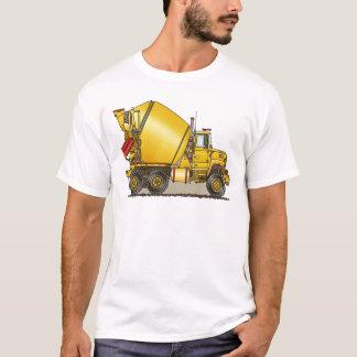 Le camion concret équipe le T-shirt