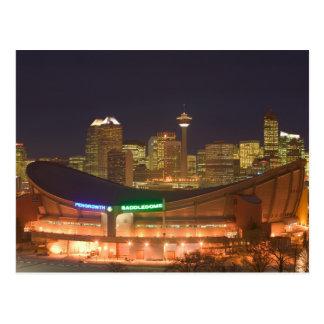 Le Canada, Alberta, Calgary : Horizon de ville de Cartes Postales