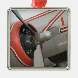 Le Canada, Alberta, Edmonton : Aviation d'Alberta Ornement Carré Argenté