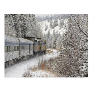 Le Canada, Alberta. PAR L'INTERMÉDIAIRE du train Carte Postale