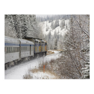 Le Canada, Alberta. PAR L'INTERMÉDIAIRE du train Cartes Postales