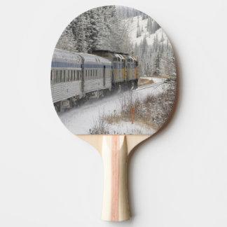 Le Canada, Alberta. PAR L'INTERMÉDIAIRE du train Raquette Tennis De Table