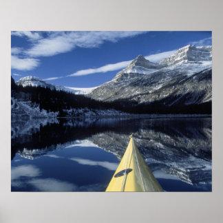 Le Canada, Colombie-Britannique, Banff. Arc de kay Affiche