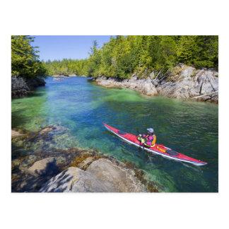 Le Canada, Colombie-Britannique, île de Vancouver. Carte Postale