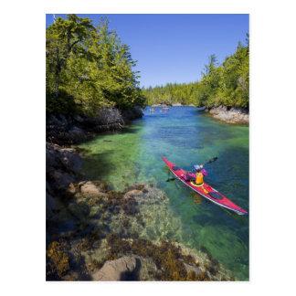 Le Canada, Colombie-Britannique, île de Vancouver. Cartes Postales