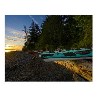 Le Canada, Colombie-Britannique, île de Vancouver, Cartes Postales