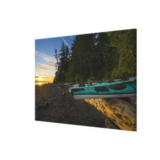 Le Canada, Colombie-Britannique, île de Vancouver, Impression Sur Toile