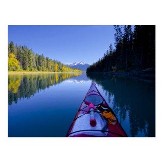 Le Canada, Colombie-Britannique, lacs Bowron Carte Postale