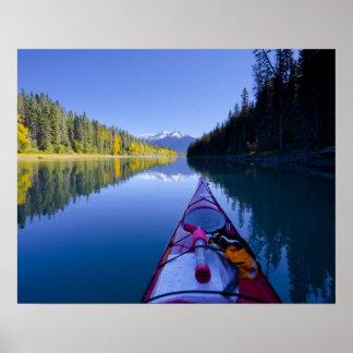Le Canada, Colombie-Britannique, lacs Bowron Poster