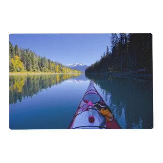 Le Canada, Colombie-Britannique, lacs Bowron Set De Table Stratifié