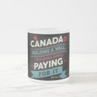 Le Canada construit un mur Tasse Givré