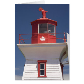 Le Canada, île Prince Edouard, Victoria Carte De Vœux