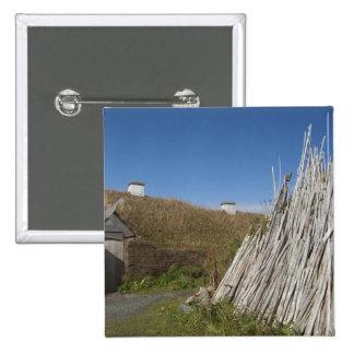 Le Canada, la Terre-Neuve et le Labrador, L'Anse 2 Badge Carré 5 Cm